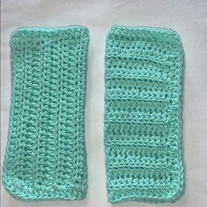 Other - Two Beach Glass Color All Purpose Cotton Cloths